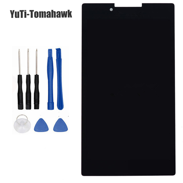 For New LCD Display Touch Screen Assembly Replacement For Lenovo Tab 2 A7-30 A7-30HC A7-30DC 7-inch Black Free Shipping