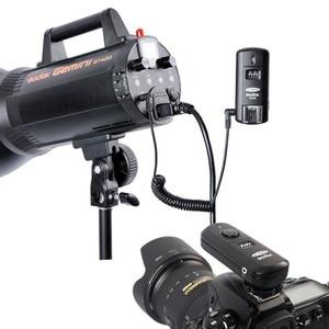 Image 5 - Беспроводной дистанционный триггер Godox для фотостудии и приемник затвора, 2,4 ГГц, 16 каналов, для Nikon D5100 D90 D7000 D7100 D5200