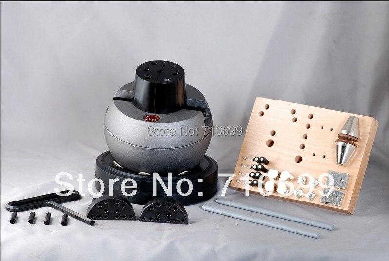 Livraison gratuite De Haute Qualité GRS Gravure Bloc Réglage Ball Étau avec 30-pcs L'ensemble D'attachement, graveur outils