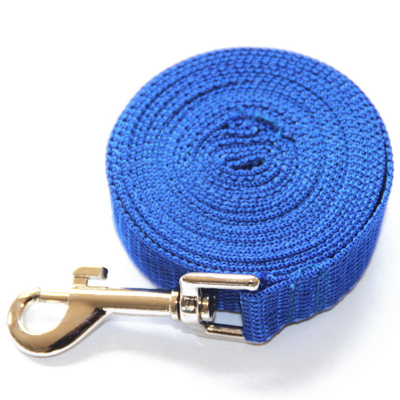 4.5m,9m,15m,20m Strong Nylon Dog Puppy Pet Leash Lead Walking Harness Safety Belt Hot Sale