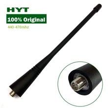 Yidaton 100% originale hyt hytera hytera tc500 tc600 uhf 440 470 mhz antenna per tc368 tc508 tc780 tc518 tc368