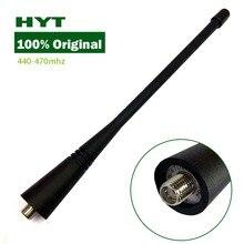 شركة hytera hyt شركة hytera yidaton 100% الأصلي هوائي uhf 440 470 ميجا هرتز ل TC368 tc500 tc600 TC508 TC780 TC518 TC368