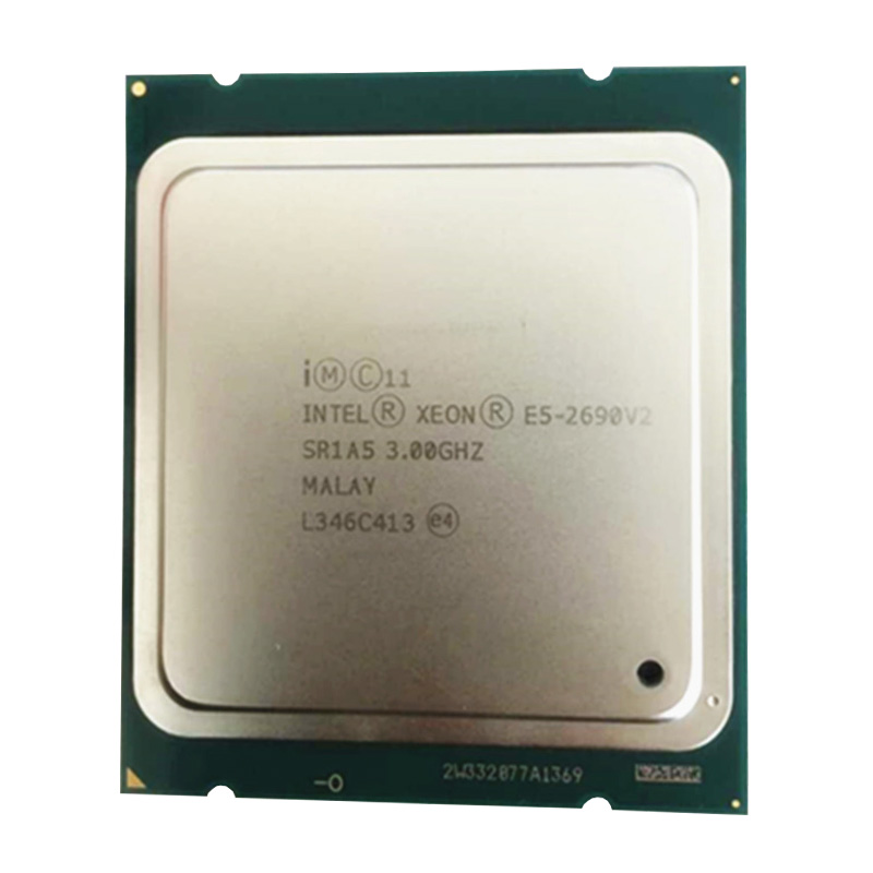 Intel Xeon  E5 2690 V2 Cpu 10 Core Processor  /SR1A5 3.0GHz/ LGA 2011 Socket E5 2690 V2 L3/25m