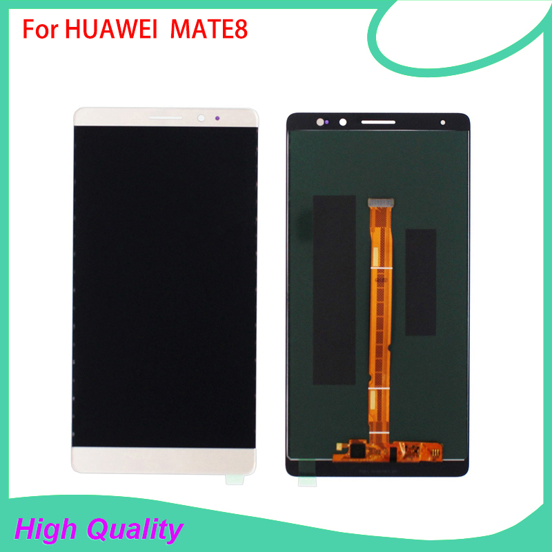 100% garantie testé écran tactile LCD de haute qualité pour HUAWEI Ascend Mate 8 LCD de téléphone Mobile livraison gratuite