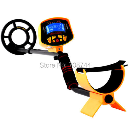 US MD 3010II Professional Underground Metal Detector MD 3030 Fully Automatic With LCD Display Gold Silver Digger Treasure Hunter In Industrial