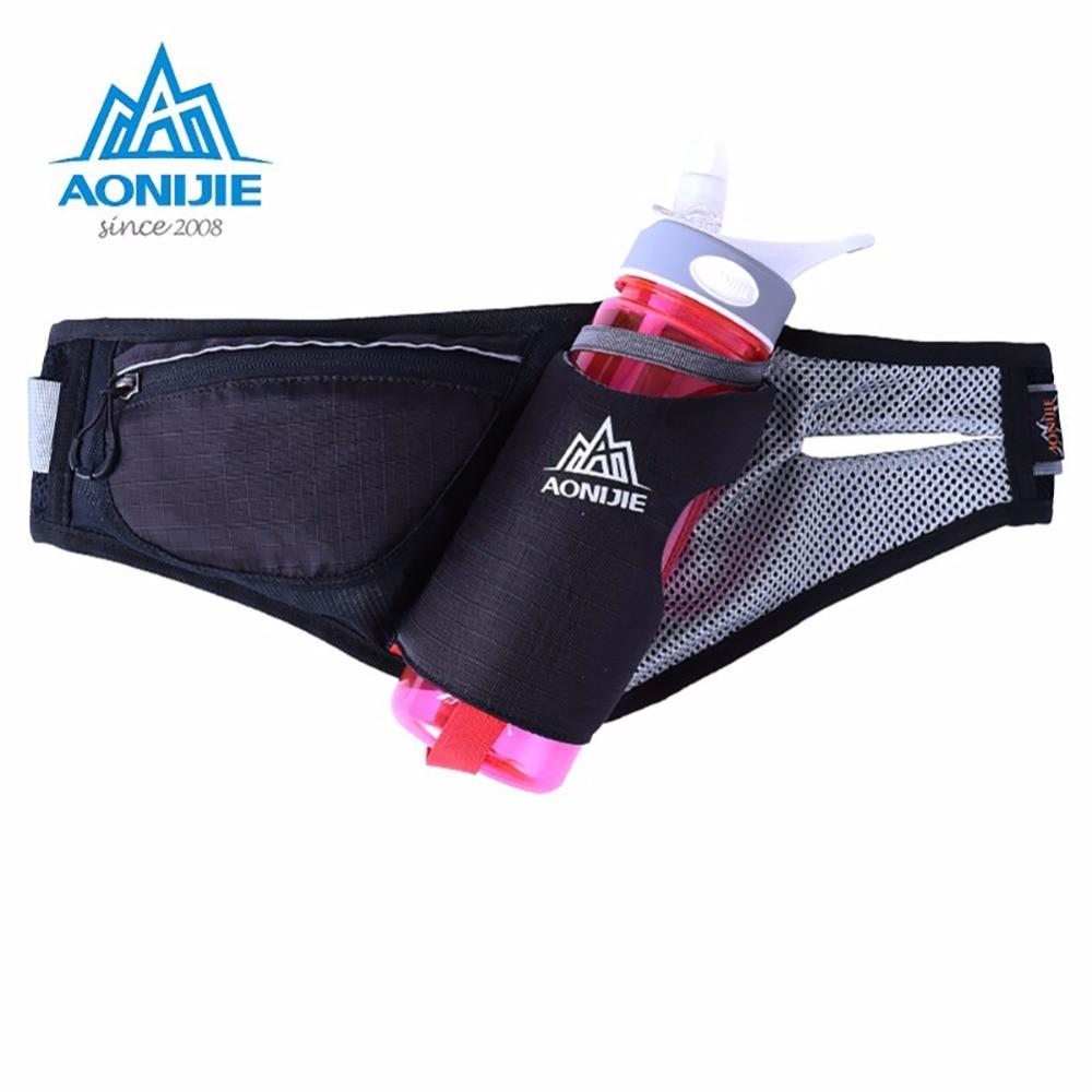 Prix pour Courir Sport Léger Taille Sac Hommes Femmes Pack Bouteille D'eau Ceinture Sac En Plein Air Voyage Running Pack