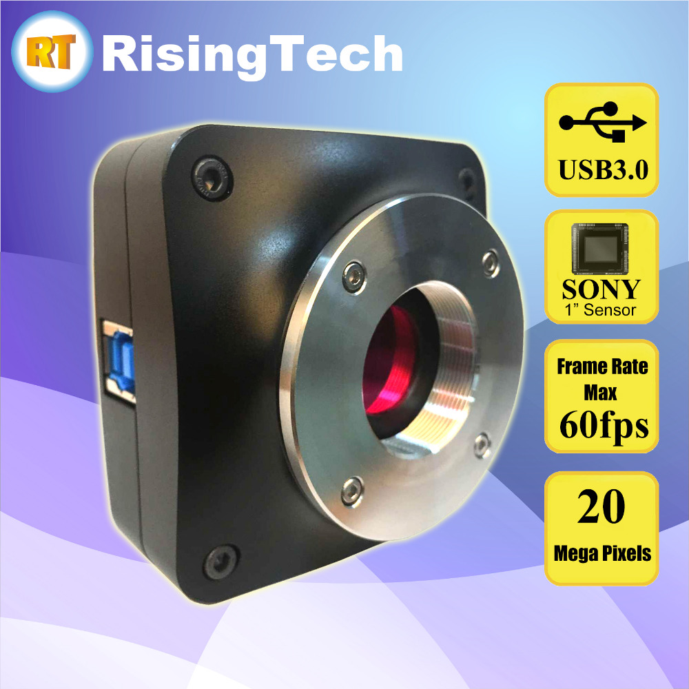 IMX183 High Frame Rate 60fps 20MP USB3.0 Microscope Camera