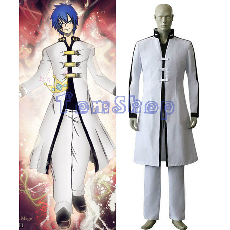 Fairy Tail Jellal Fernandes Gerard Cosplay Uniform Suit Men