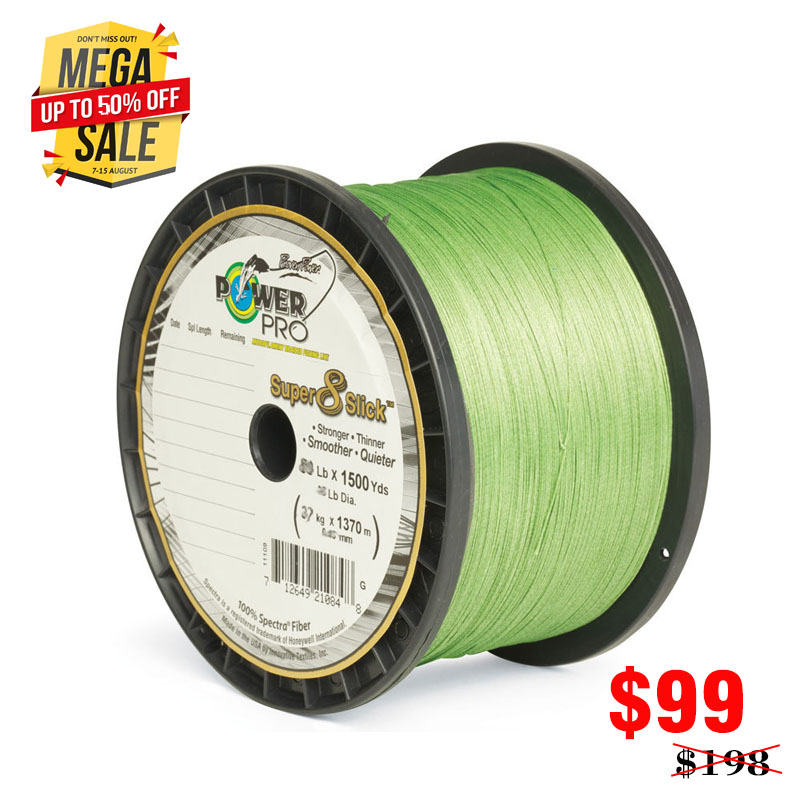 цена Saltwater Fishing POWER Pr0 braided PE Fishing Line 8 Slisk line Pro Super Power USA 1500 yds PE 8 braided Fishing Line