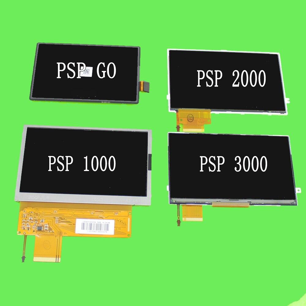 Сменный ЖК-экран для Sony PSP 1000 2000 3000  сменный поврежденный ЖК-экран для SONY PSP Go title=