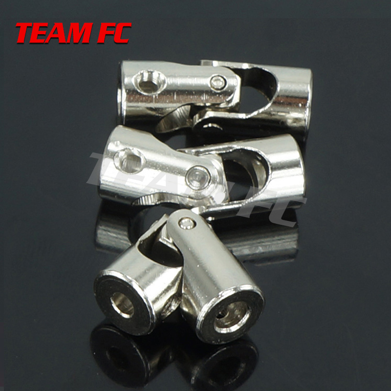 1pc 5*8 6*8 4*3.17 mm Universal Joint Connector Model Stainless Steel Metal Cardan Joint Gimbal RC Motor Shaft combination F127 rc car boat model universal coupler joint coupling steel shaft connector model diy motor shaft fitting accessory