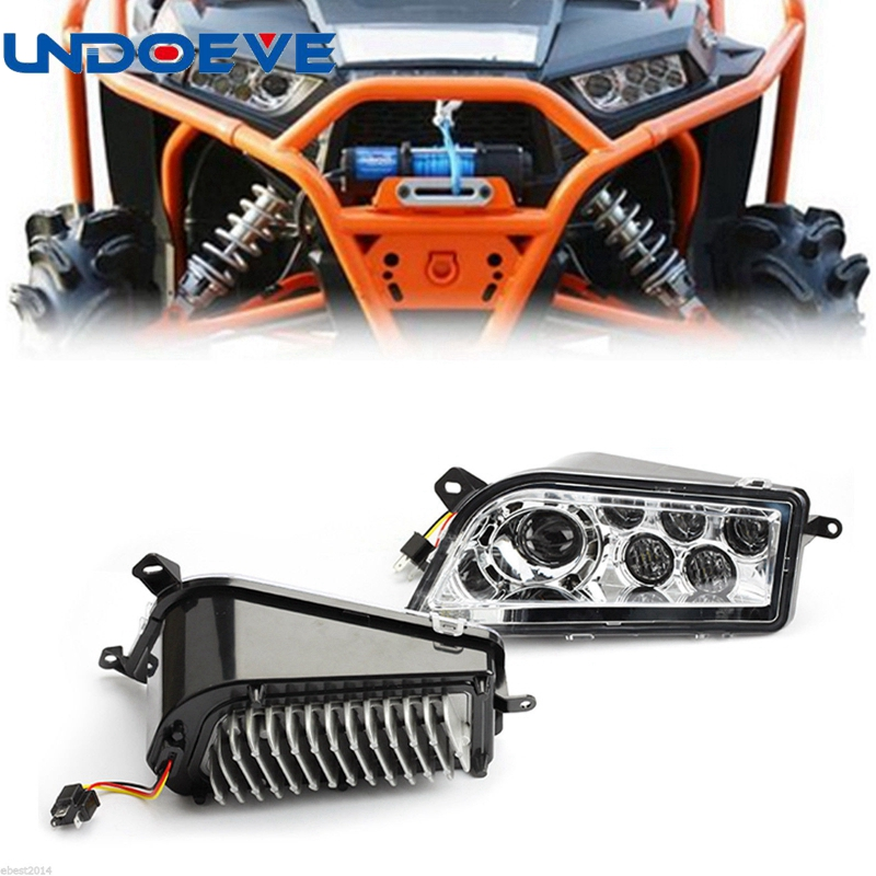Undoeve Led Headlight RZR 1000 LED lights for Polaris RZR 900 Conversion Led Headlight Kit 2014-2016 RZR XP 1000 XP TURBO