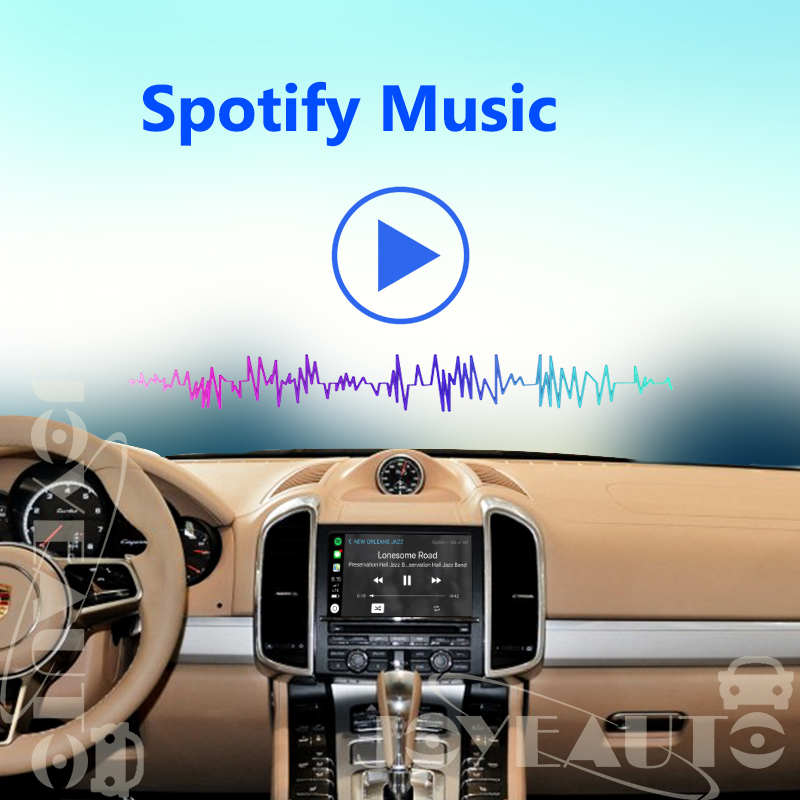 aftermarket oem pcm 3 1 wireless apple carplay retrofit for 2010 16 porsche  panamera cayenne macan cayman boxster 911 car play -in car multimedia  player