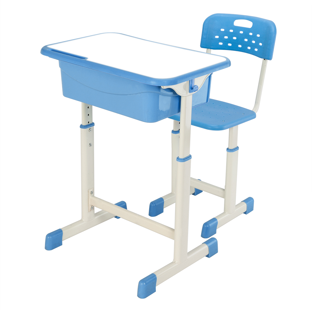 Adjustable Student Desk and Chair Kit Blue/PinkAdjustable Student Desk and Chair Kit Blue/Pink