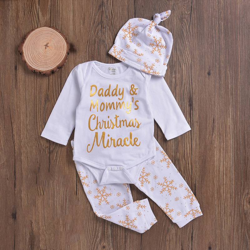 c1539dc3194c Christmas Best Gift Long Sleeve Tops jumpsuit+Christmas Style Pants+ ...