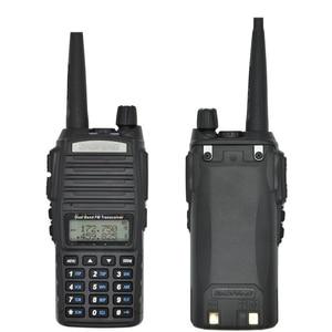 Image 2 - แบบพกพา 2 Way วิทยุ Walkie Talkie 10 km CB HAM วิทยุสมัครเล่นสำหรับ VHF UHF Dual Band UV 82 UV82 Baofeng UV 82 PLUS
