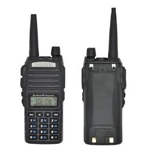 Image 2 - Émetteur récepteur bidirectionnel portatif Radio talkie walkie 10 km CB radioamateur pour Vhf Uhf double bande UV 82 UV82 Baofeng UV 82 plus