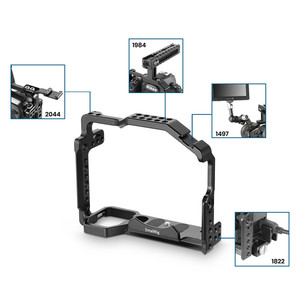 Image 5 - Petite Cage de montage pour Nikon D850 avec plaque QR suisse Arca intégrée et Rail otan 2129