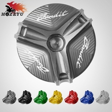 For Suzuki GSF 600 S 1250 GSF 650 S N 250 Bandit 650S Aluminum Motorcycle Accessories Engine Oil Tank Cap Oil Filler Cup пенополистирол ursa xps n iii l g4 1250 600 50