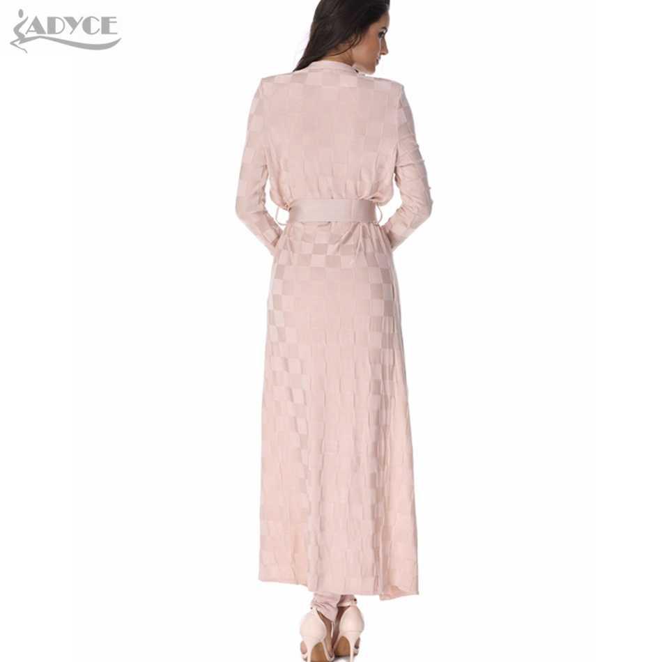2019 mới thời trang nữ đường băng Áo Khoác hoa mai kẻ sọc Rộng cấp Cardigan thanh lịch áo Mở Nữ Thời Trang Người Nổi Tiếng Băng áo choàng