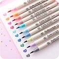 6 pcs/lot Beauty color gel pen statty sky pens set korean stationery office school supplies canetas escolar