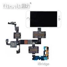 Qianli Tool iBridge Test Kabel voor iPhone X 8 P 8G 7 P 7 6SP 6 S 6 P 6 moederbord Fout Display Touch Staart Plug Achteruitrijcamera Reparatie