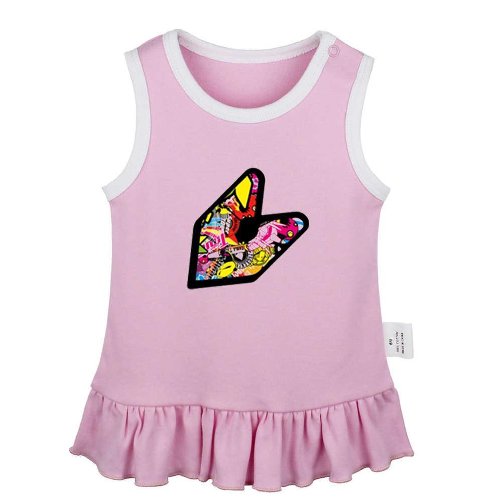 Платье для новорожденных девочек с принтом «Покемон супергерой», «цыпленок», «Dumbo tiger», «one piece», платье без рукавов для малышей хлопковая одежда для новорожденных