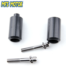Freeshipping motorcycle parts Frame Slider Crash Protector For Yamaha 1999 2000 2001 2002 YZF R6 YZFR6 Carbon frame slider for yamaha 99 02 yzfr6 yzf r6 yzf r6 falling crash pad protection motorcycle accessories 1999 2000 2001 2002