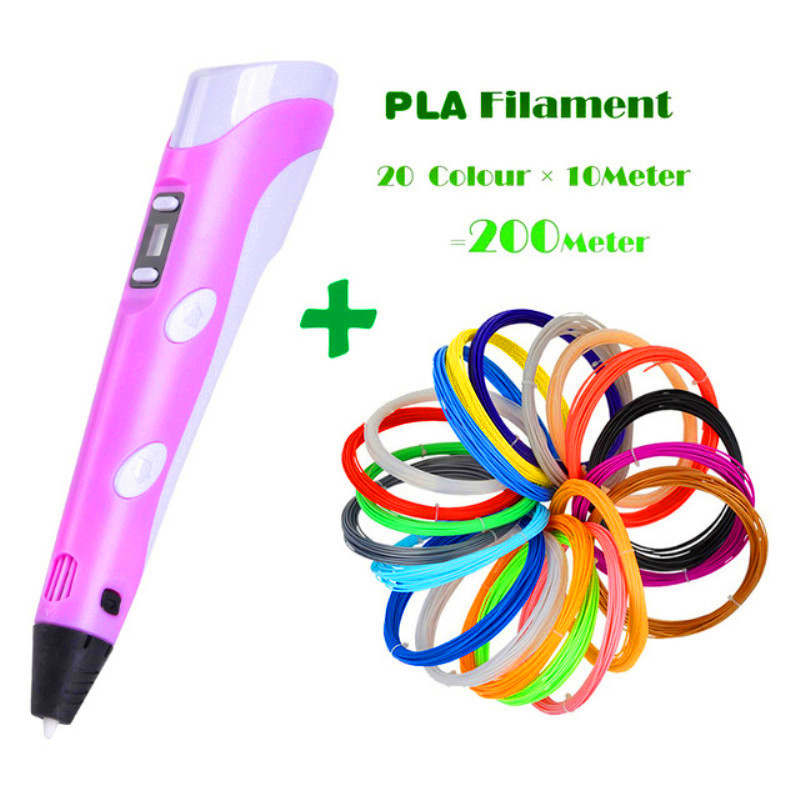 NEW 3D Pen Creative Set Toys For Children Plastic Drawing Creativity Arts And Crafts Kids Painting Educational Christmas Gifts