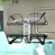 High Quality Car Sun Visor Clip Holder For Dual Sunglasses Eyeglass Reading Glasses Card Pen