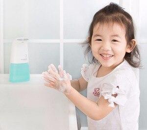 Image 4 - (Ru Ship) Xiaomi MiniJ Auto indukcja spienianie mydło dispensner inteligentna ręka Mi pralka myjnia 0.25s indukcja podczerwieni bezdotykowe mydło