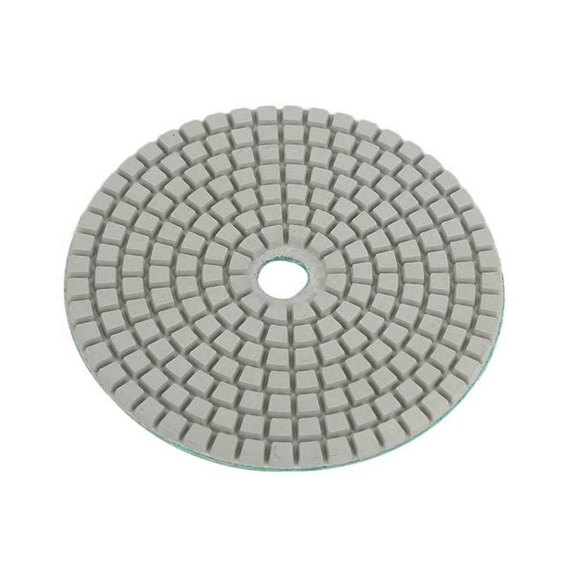 """1 Uds. Almohadillas de pulido de diamante en húmedo/seco de 3 """"/4'' 50-3000, discos de molienda de forma redonda para piedra de granito, hormigón y mármol"""