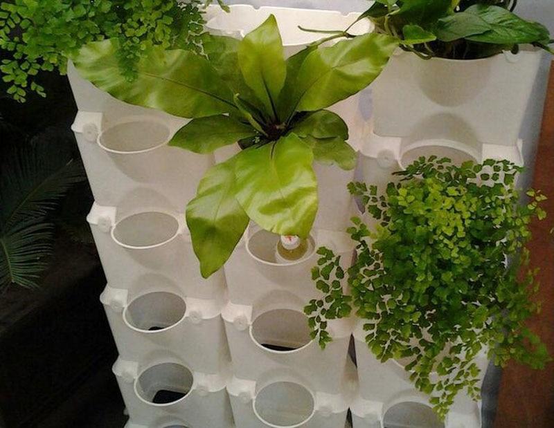 Bloempotten planter voor balkon bloem combinatie bloempot