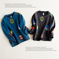2016 baby boys t shirts spring autumn cartoon children clothes kids long sleeve hoodies brand vestidos infantil boy tops tees