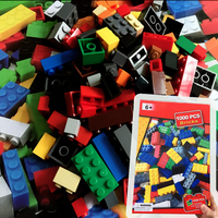 Puzzles 1000 PCS Modeling Bricks Blocks Kids Toys For Girls Boys Assembling Puzzle Science Building Block