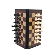 Международный шахматы магнитные шахматы развлечения игры шахматы с откидной борт набор шахматной доски