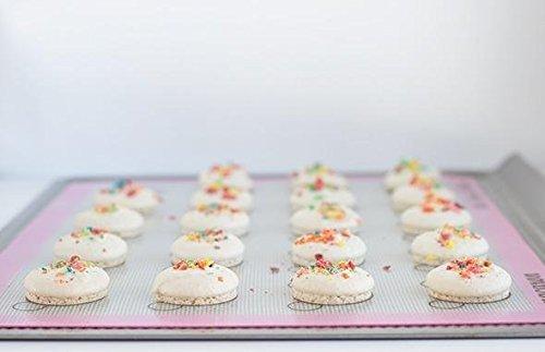 Silicone Slipat Macarons Baking Mat – Macarons Baking Sheet Cookie Liner – Slipat Macarons Mat