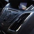 Chrome ABS interior saída decoração anel 5 pçs/lote Acessórios Do Carro Para Ford focus 3 2012 2013