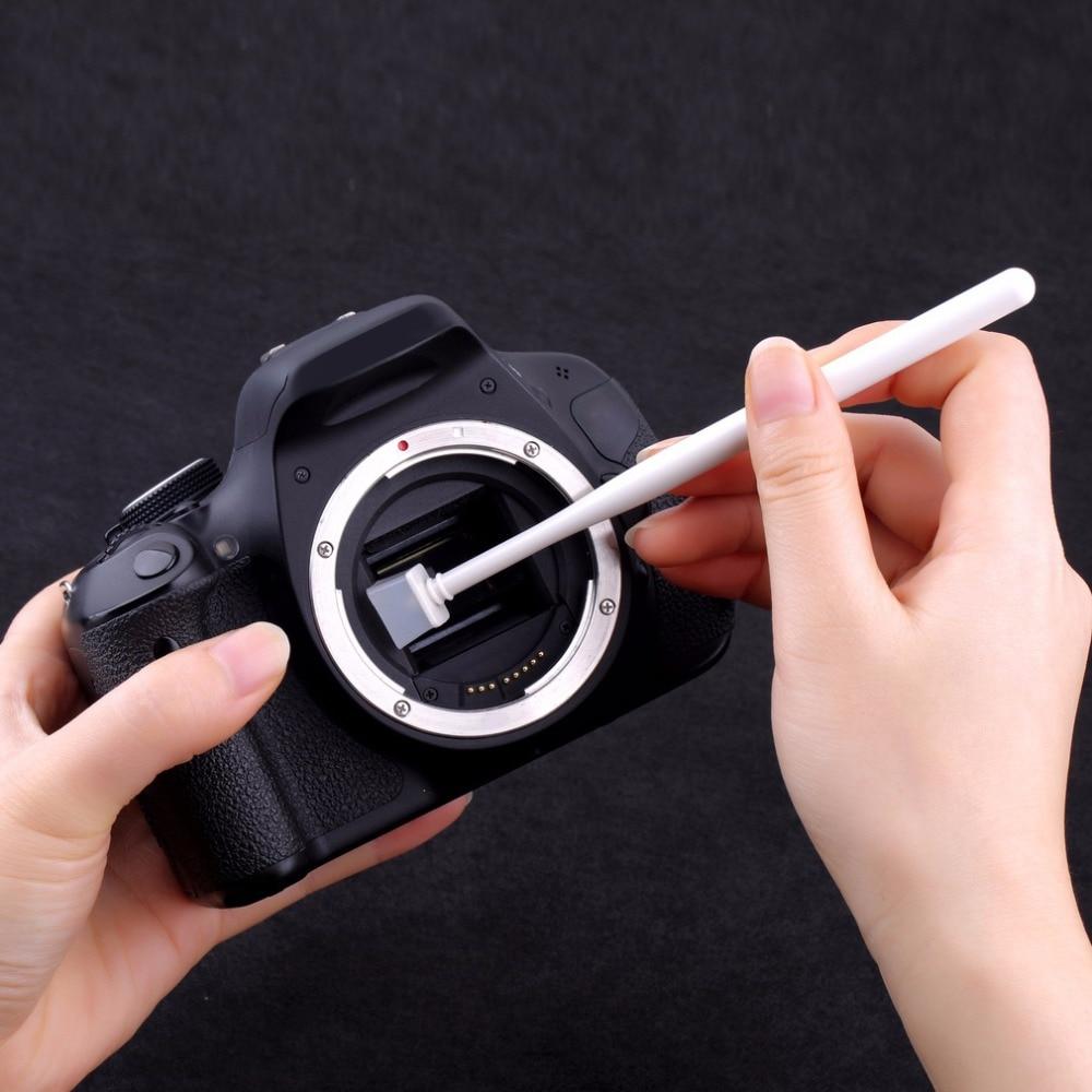 1 Juego De Cámara Ccd Cmos Sensor Limpiador De Polvo De Jalea Kit Para Canon/nikon/sony