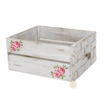 Fotografía cama de madera, Vintage bebé flor cama de madera sólida recién nacido caja de madera apoyos bebé cajón de madera Bol posar foto Prop Nest