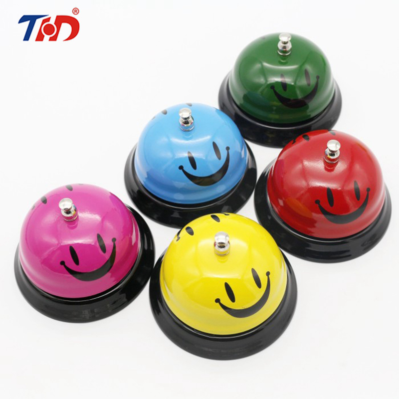 THD 5 Colors Desk Kitchen Office Hotel Counter Reception Restaurant Bar Christmas Ring For Service Call Bell