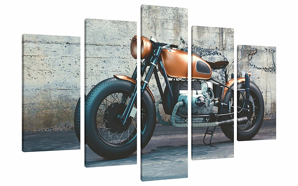5 Pieces Modern Canvas Painting Wall Art Picture For ...