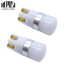 2X T10 LED Car Light W5W 3030 Interior Auto Motor License Plate Turn Signal Truck Lamp Clearance Lights Reading White