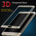 0.2mm Full Screen Tempered Glass For Samsung Galaxy S6 Edge/S6 Edge Plus Screen Protector 3D Curved Gorilla Glass On S7 S6 Edge