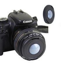 52/55/58/62/67/72/77/82 мм спереди на Объективы для установки баланса белого Кепки Крышка для цифровой зеркальной камеры Canon Nikon sony Pentax Olympus DSLR