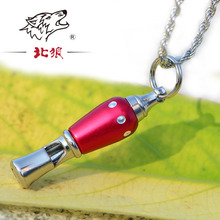 HOT Stainless Steel Survival lifesaving emergency survival whistle chain WITH Camping Outdoor Sports Tools  for basketbaLL games все цены