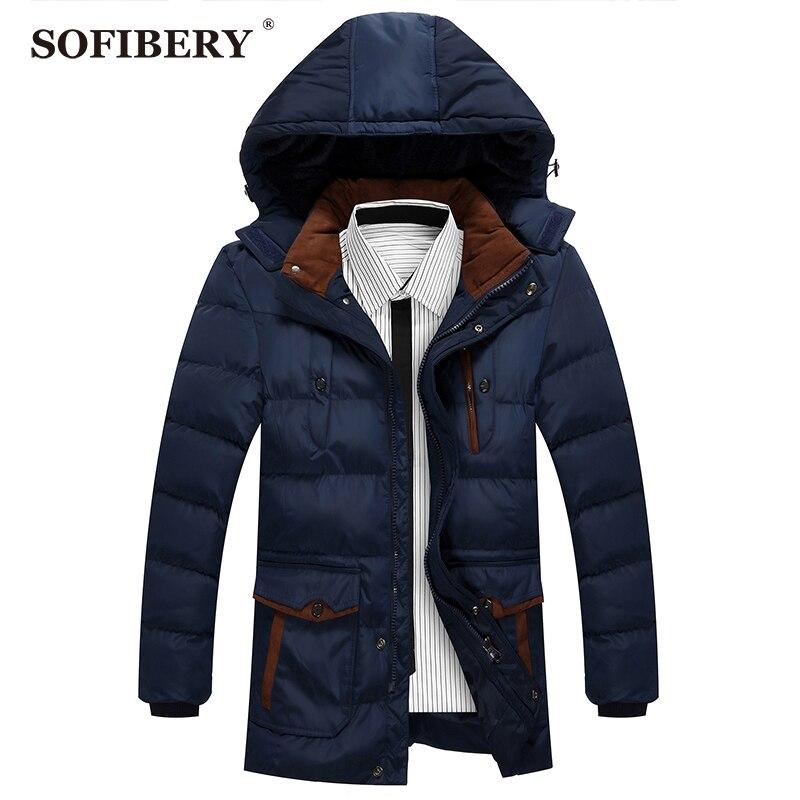 SOFIBERY winter jacket men parkas casual fashion Men's Coats Jackets Free shipping JOB-11818