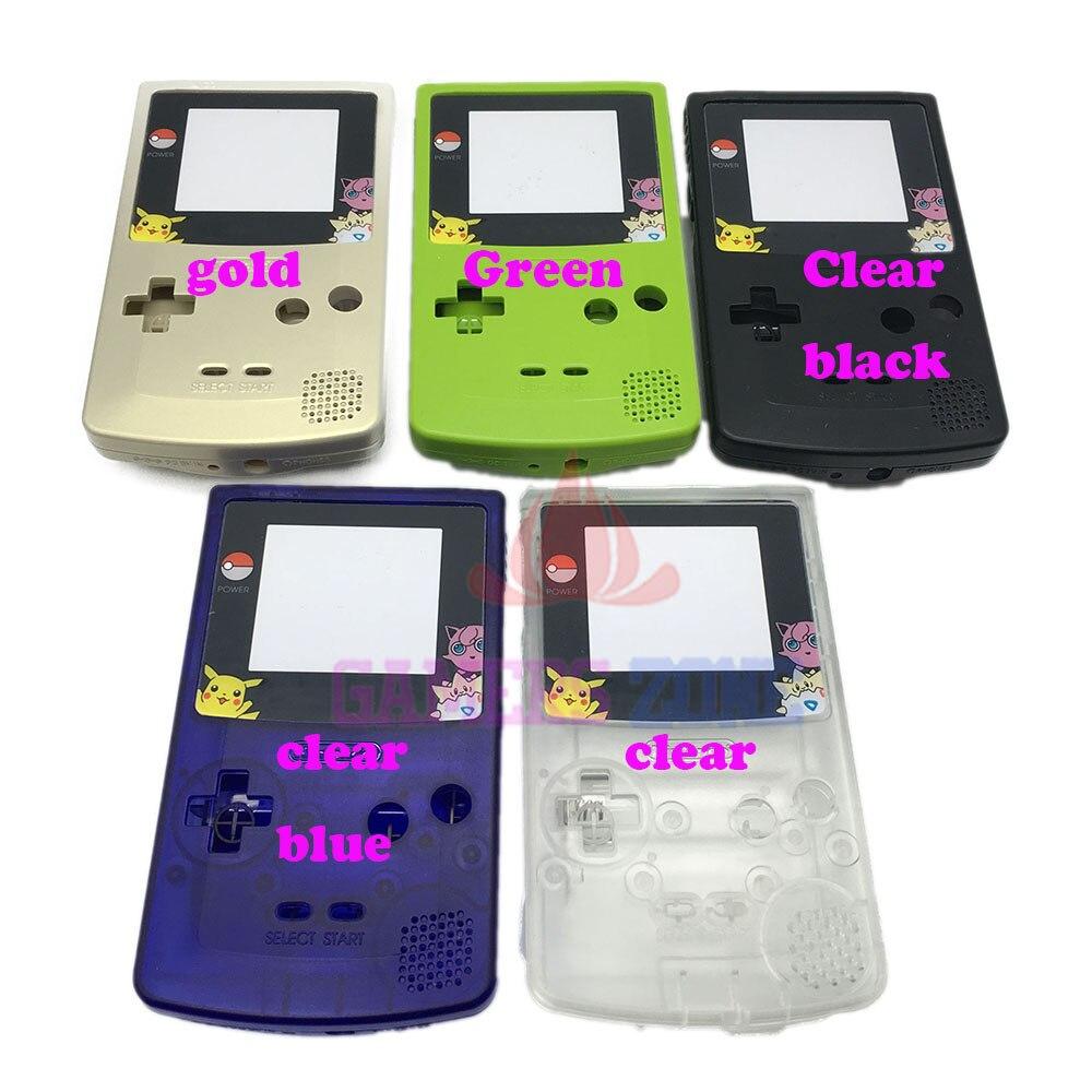 game boy color giochi : 9 Colori Da Scegliere Completa Housing Shell Per Nintendo Game Boy Color Gbc Parte Di Riparazione