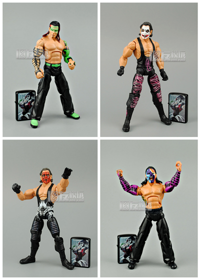 18cm High Classic Toy occupation wrestling gladiators wrestler Jeff Hardy action figure Toys For Children Classic Gift