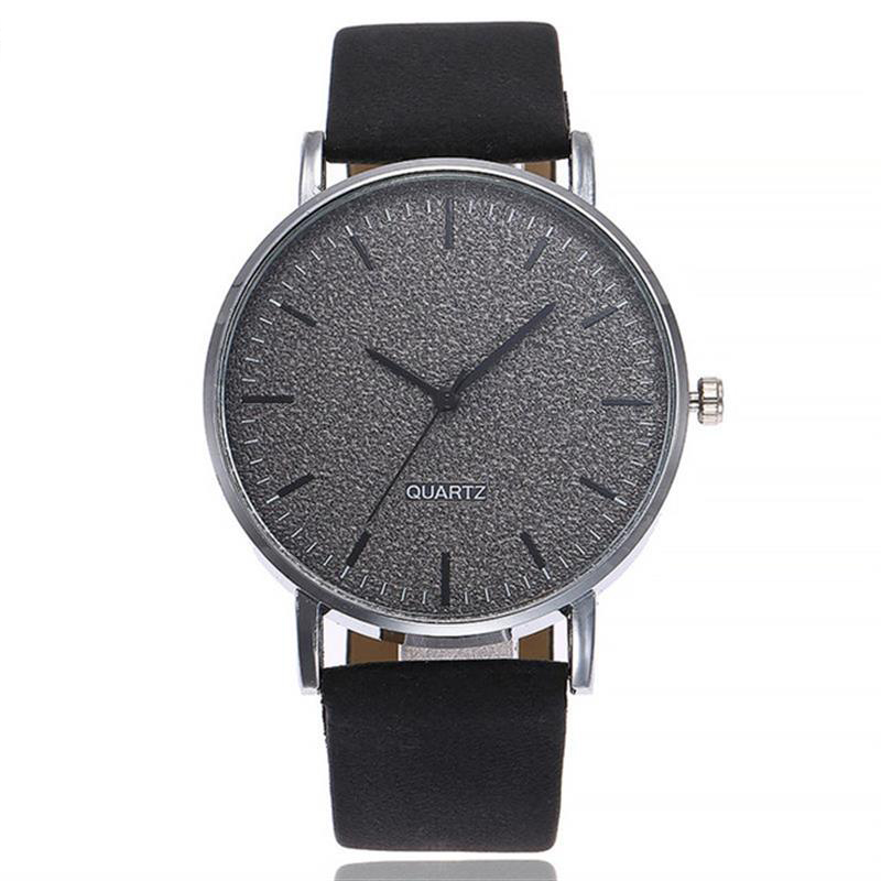 733ef1e8677e Comprar Las mujeres relojes de lujo de las señoras de moda reloj de banda  de cuero de las mujeres 7 colores moler esfera reloj de pulsera reloj  femenino ...